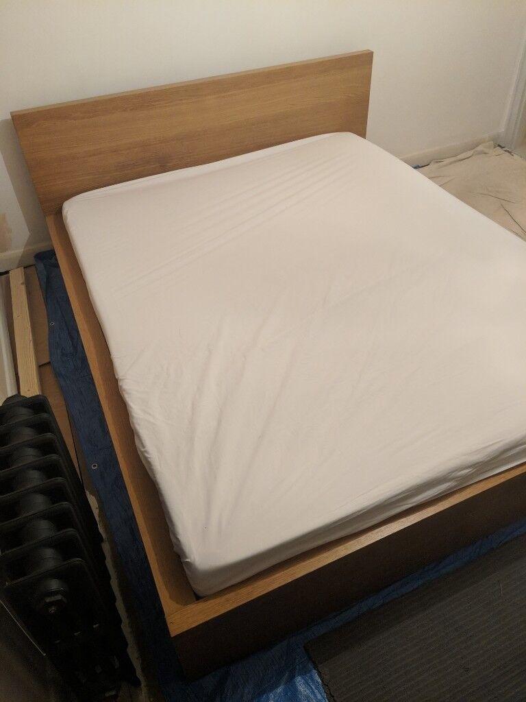 best service cc908 c2d0f Ikea Malm king size bed & Ergoflex memory foam mattress   in Lewes, East  Sussex   Gumtree