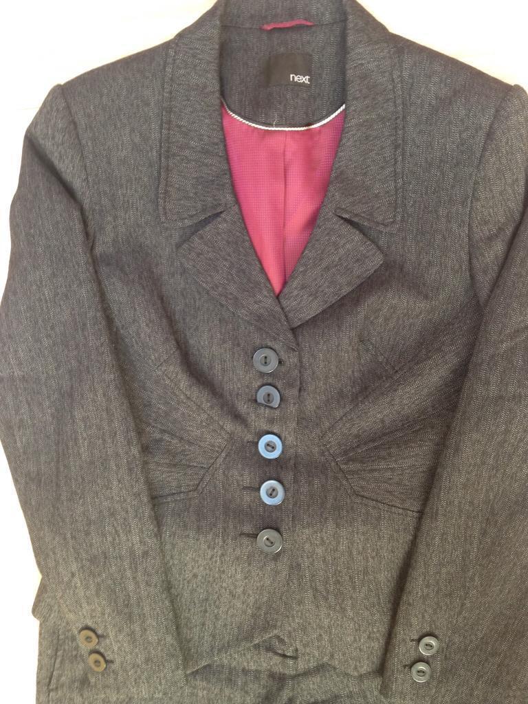 Next tailored ladies suit, size 12