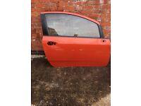 Fiat Punto grande 2005 drivers door (2 door model)