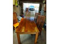 Table and 4chairs