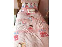 Next children's 'Princess' bedlinen and accessories