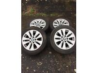 BMW ronal genuine style 156 alloys