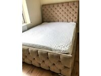 Kingsize Bed Frame Only - Underbed Ottoman