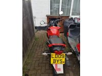 Honda CBF great condition runs well 2 owners