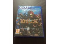 Brand New Unopened PS4 Knack Game