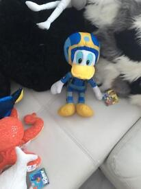 Donald Duck roaster racer
