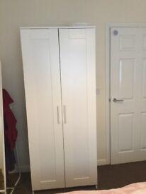 2 Door Wardrobe For Sale