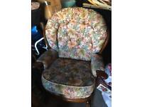 Cottage rocking chair