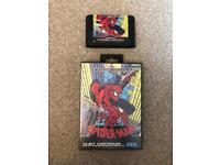 Sega Mega Drive Game Spider-Man