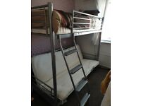 Single bed with futon