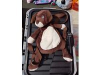 [EXCELLENT CONDITION] BoBo Buddies Children's Backpack, DOGGY - BROWN