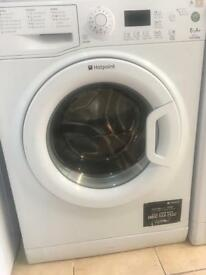 Hotpoint washing machine 6kg comes with 1 month guarantee and in very good condition