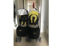MacLaren Techno XT Double buggy