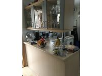 Appliances : Zanussi Oven and Gas Hob, Zanussi Fridge, Zanussi Washer/Dryer & Zanussi Dishwasher