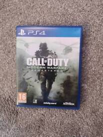 Call of Duty advanced warfare remastered PS4