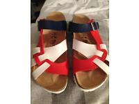 Brand new bertula sandals size 42