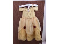 Official Disney store belle dress, excellent condition.