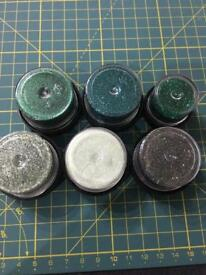 Art Institute Green Glitter - 6 pots