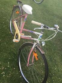 Ladies vintage sprick bicycle