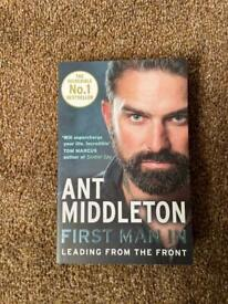 """Ant Middleton book """"first man in"""""""