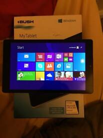 Windows 8.1 my bush tablet. Like new condition fully working
