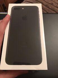 iPhone 7 Plus 32Gb Matt Black - Still sealed