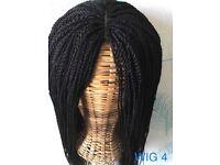 Custom Made Braided Wig Micro Braids/Single Twists Braids Wig No 2