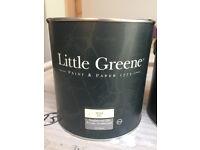 Little Greene - Woad Blue Flat Oil Eggshell Topcoat Paint and Oil Primer Undercoat