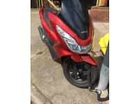 Honda pcx 125 cc swaps for a car ??