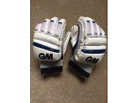 GM Cricket Batting Gloves Size Youth
