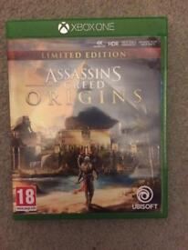 Assassins Creed Origins Xbox One Limited Edition
