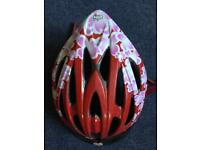 GIRLS BELL CYCLE HELMET -Youths 50-57cms