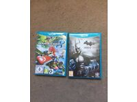 Excellent condition Wii U games, x 2, Hardly been used