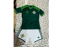 Northern ireland football kit 5 yrs