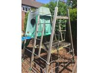 TP FOREST CLIMBING DEN AND SLIDE