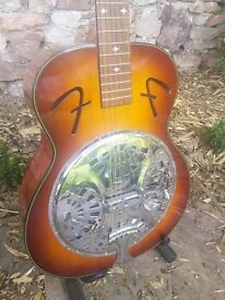 Fender FR-50 Resonator acoustic guitar