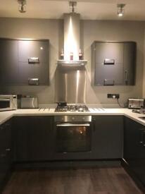 Howdens dark grey kitchen for sale