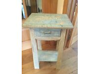 Lovely little Occasional table. Hall storage, key drawer