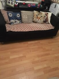 Ikea sofa with 2 x covers