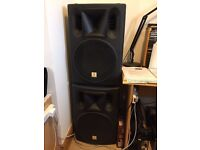 The Box PA 302 A - Active 2 Way Full Range Loudspeakers