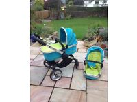 iCandy Peach pram/pushchair and accessories