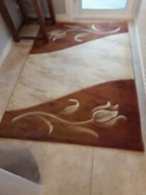 Matching carpets for sale. Sold together or separately.