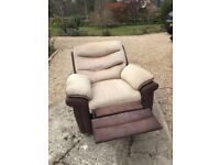 Electric Reclining Chair, excellent condition