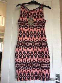Bodycon dress brand new with tags from boohoo, size 8