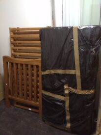 Baby Cot with Mattress For Sale 70cmx140cm