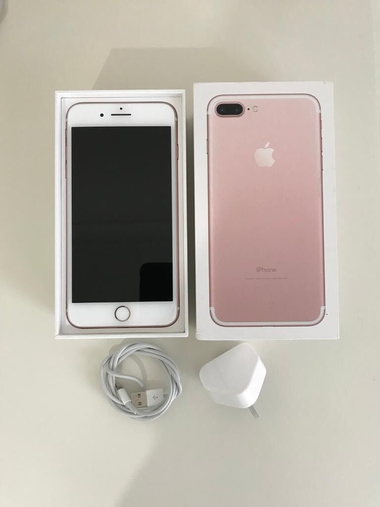 Iphone 7 Plus 32gb Rose Gold Unlocked Excellent Condition