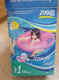 Zoggs Pink Swimming Seat 12-18 months