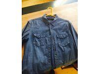 All Saint Denim Jeans Shirt