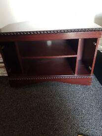 Three cabinets