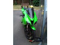 Amazing kawasaki zx6r. With full micron system sounds amazing